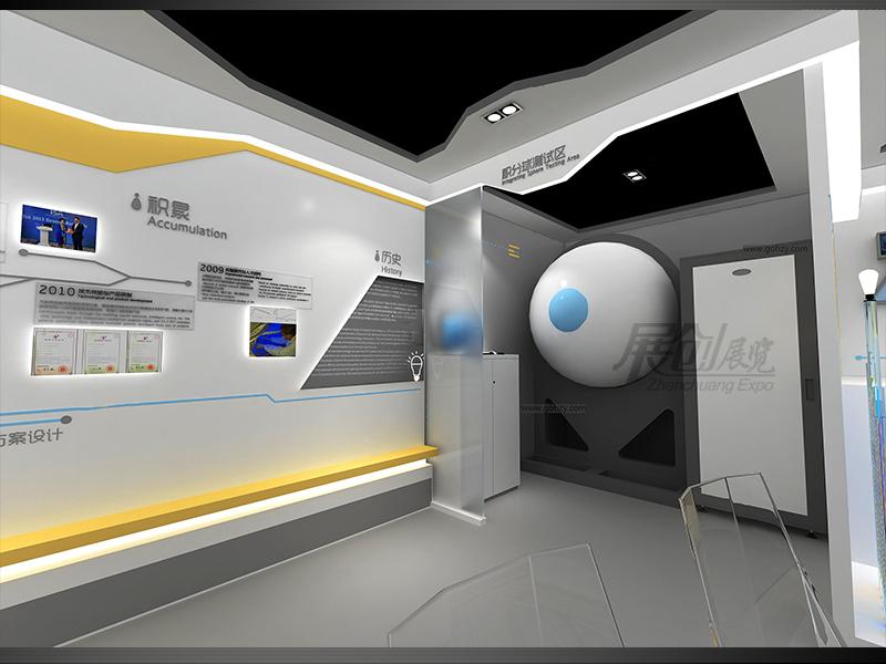 企业文化展示厅四川设计搭建