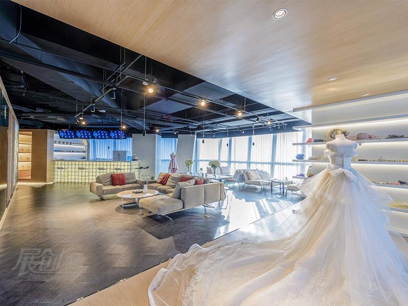婚纱展厅成都工厂制作装修