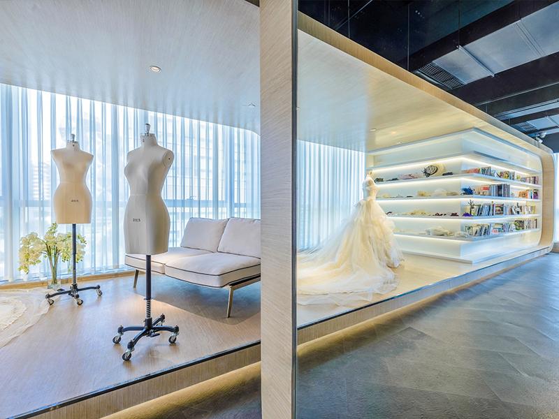 婚纱展厅四川腾讯分分彩公司设计搭建