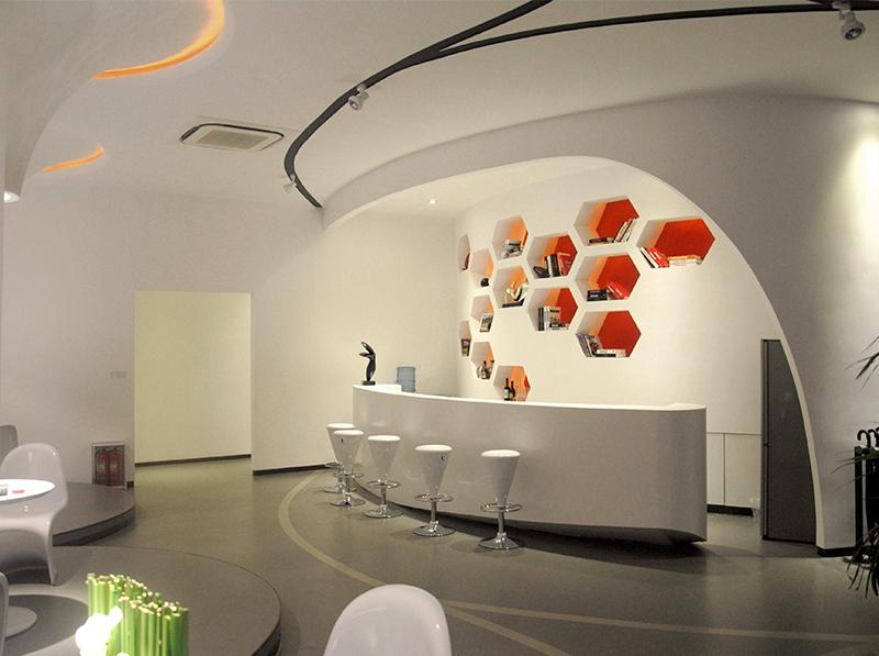 成都企业展厅设计制作|大拇指