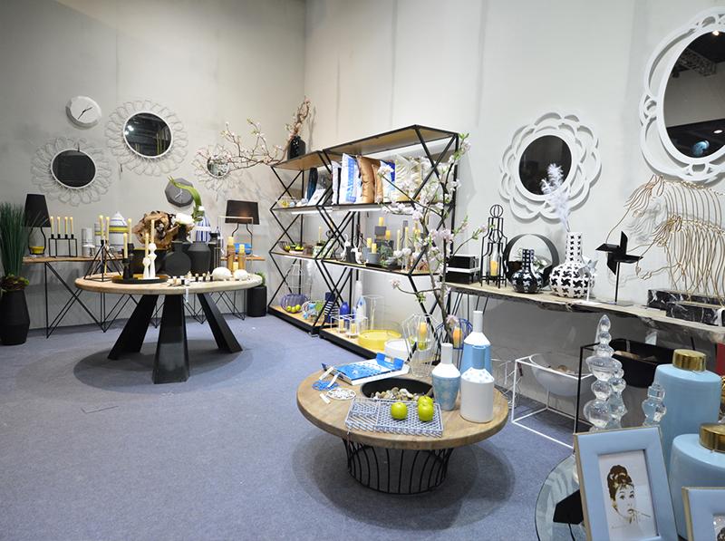 展示厅设计搭建|大千饰品