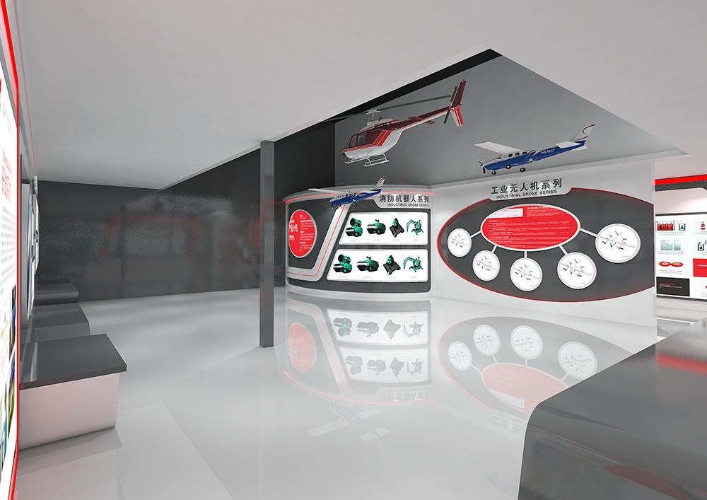 四川消防展厅设计